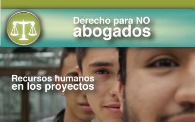 RECURSOS HUMANOS EN LOS PROYECTOS